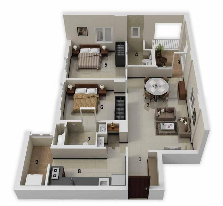 3D Home Plan Ideas   Android Apps on Google Play. Stunning 2 Bedroom Home Plans Designs Contemporary   Interior