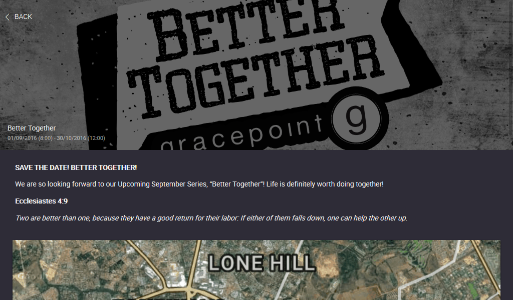 Gracepoint South Africa- screenshot
