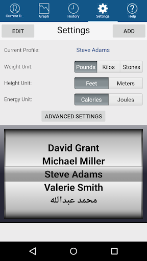 Monitor Your Weight 4.9.8.1 screenshots 4