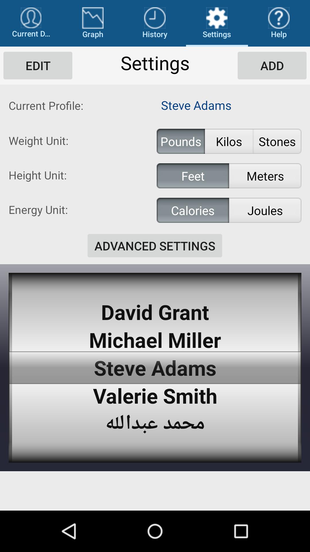 Monitor Your Weight screenshot #4