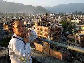 Photo: Lever de soleil sur Katmandu