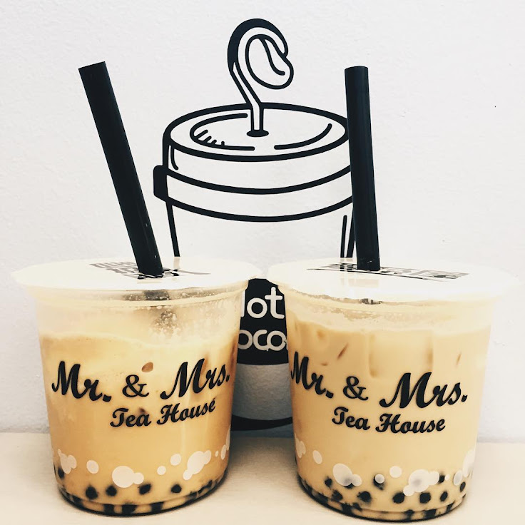 Classic black milk tea with boba. Photo: traveltheswirled.