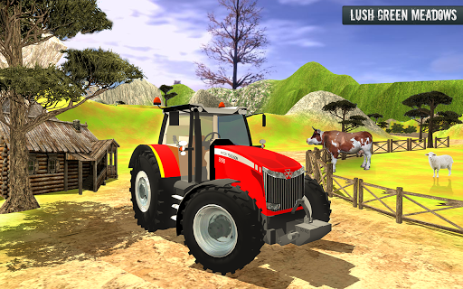 Cargo Tractor Trolley Simulator Game 1.0 screenshots 3