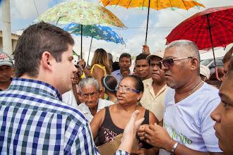 Photo: El Ministro de Vivienda, Luis Felipe Henao, supervisó personalmente la entrega de las llaves y acompañó a  206 familias a sus nuevas casas en la Urbanización Nueva Esperanza.