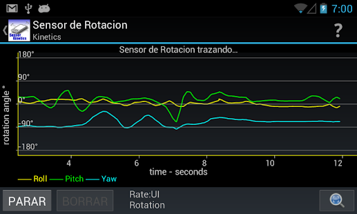 Sensor Kinetics® Screenshot