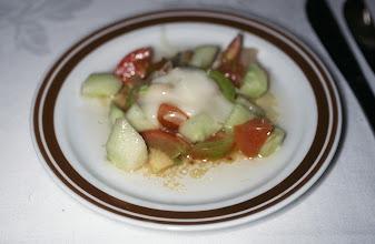 Photo: 03072 ウランバートル/ホテル/食事/ミックスサラダ