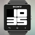 Big Rounded Digital Watch Face icon