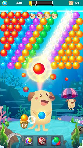Bubble Shooter Dog - Classic Bubble Pop Game modavailable screenshots 1