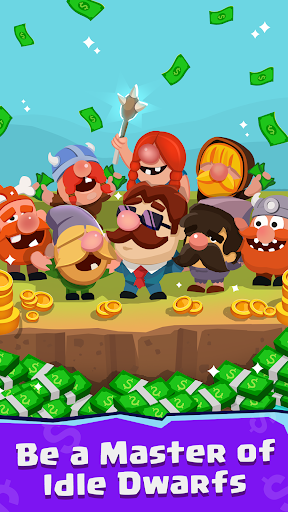 Idle Dwarfs Tycoon - screenshot