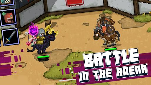 Bit Heroes: An 8-Bit Pixel RPG Quest apkpoly screenshots 4