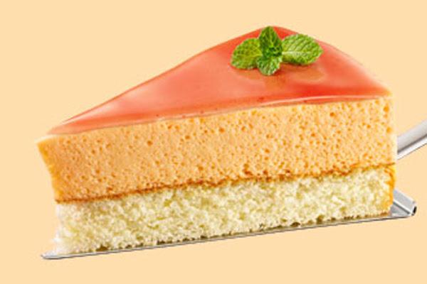 Torta Mousse de Mamão Papaia com Cassis