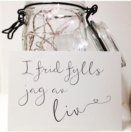 """""""I frid fylls jag av liv"""""""