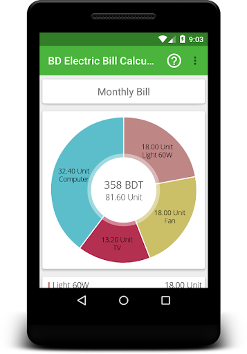 electricity bill calculator bd 1 2 apk by anwar hossain. Black Bedroom Furniture Sets. Home Design Ideas
