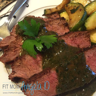 Chimichurri Flat Iron Steak