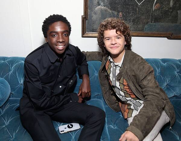 Stranger Things Caleb McLaughlin and Gaten Matarazzo