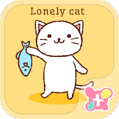 Cute Theme-Lonely Cat-