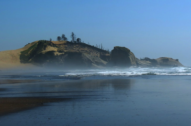 Photo: AccuFan Photo of the Day: Beach fog on July 13, 2012 in Cloverdale, Oregon by Bluesmaster http://ow.ly/ckwKc