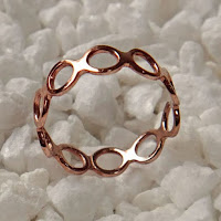 Round Bee Open SINGLE Ring
