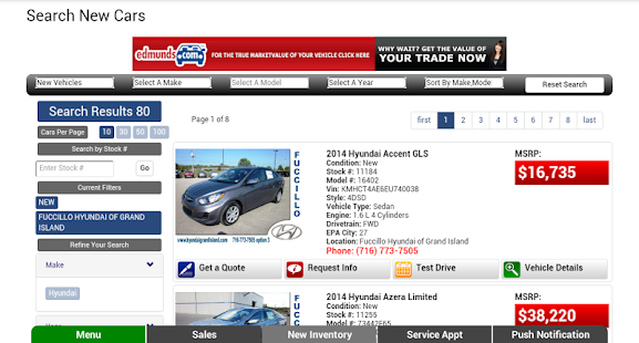 Fuccillo Hyundai Grand Island- screenshot thumbnail