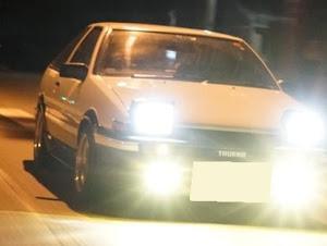 スプリンタートレノ AE86 GT-APEX 昭和61年式のカスタム事例画像 やわらかめさんの2020年03月15日21:42の投稿