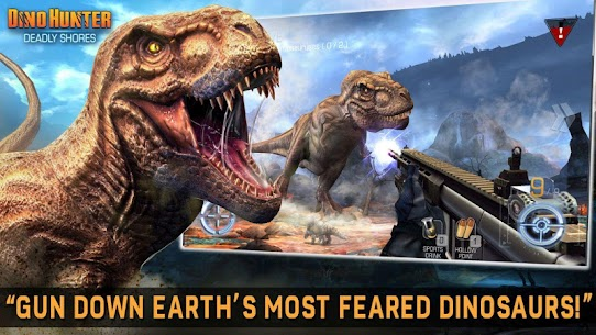 DINO HUNTER: DEADLY SHORES MOD Apk (Unlimited Money) 2