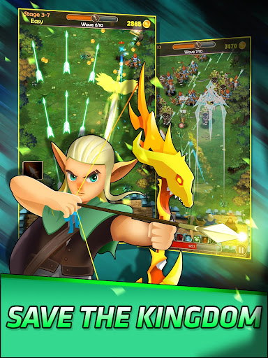 Télécharger Gratuit Guardians of Kingdom : Idle Defense War Fight  APK MOD (Astuce) screenshots 6