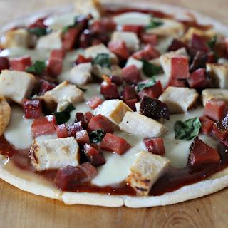 Rustic BBQ Pizza