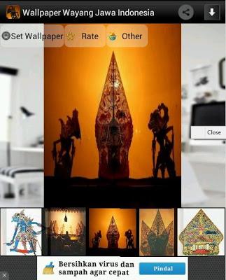 Wallpaper Wayang Jawa - screenshot