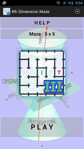 4th Dimension Maze