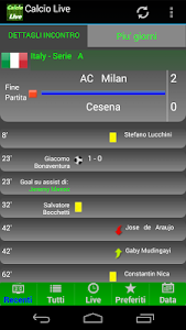 Calcio LIVE screenshot 3