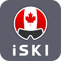 iSKI Canada - Ski, Snow, Resort info, GPS Tracker icon