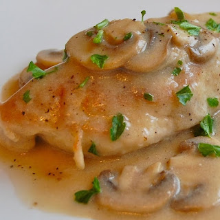 Slow Cooker Chicken in Mushroom Gravy