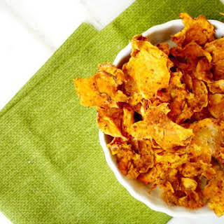 Dehydrator Sweet Potato Chips (Raw, Vegan, Gluten-Free, Dairy-Free, No-Bake).