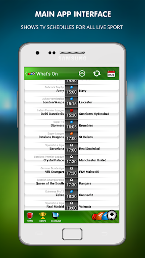Live Football on TV 1.14 screenshots 1
