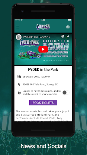 FVDED in the Park screenshot 1