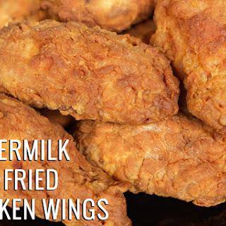 Buttermilk Deep Fried Chicken Wings.