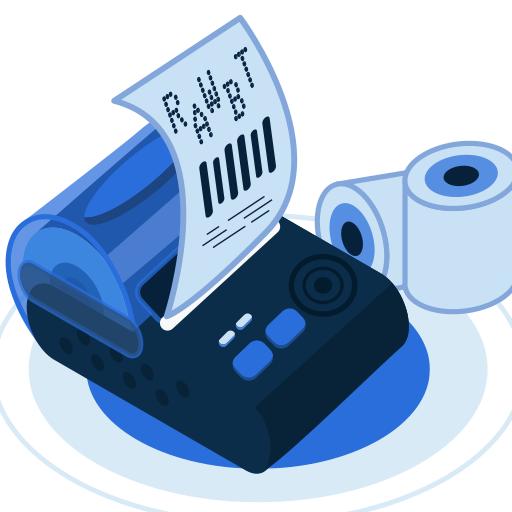 RawBT ESC/POS thermal printer driver(BT,WIFI,USB) 3 5 1 + (AdFree