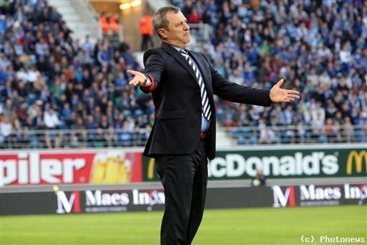 Rednic n'est plus l'entraîneur de Gand
