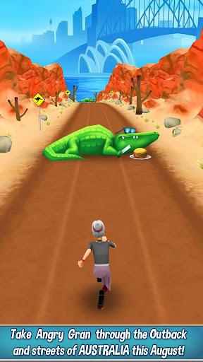 Angry Gran Run - Running Game  captures d'écran 2