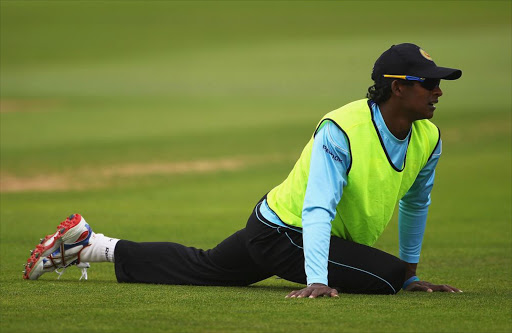 Angelo Mathews of Sri Lanka will be missing when his country tours South Africa from next week.