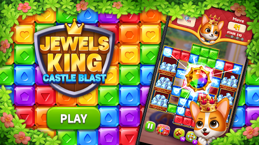 Jewels King : Castle Blast screenshots 22