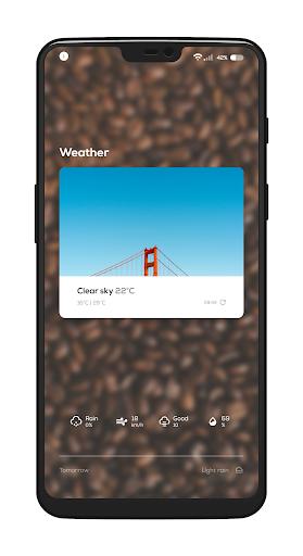 Coffee for KLWP screenshot 2