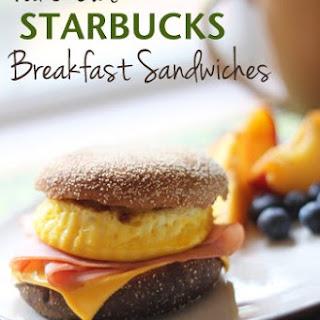 Fake-Out Starbucks Breakfast Sandwiches