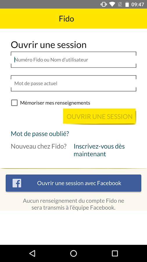 Fido mon compte applications android sur google play - Les 3 suisses mon compte ...