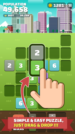 My Little Town : Number Puzzle apklade screenshots 2