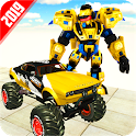 Real Robot Transform Monster Truck Fight icon