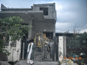 Photo: Initial front view. Lot yet to be done ! ! - D-41, P-3 GNOIDA, Built by Nanak Builders, Mr. Virender Batra