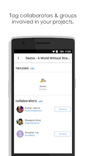 Dextra u2013 A collaborative forum for creative people 2.5.2 screenshots 5