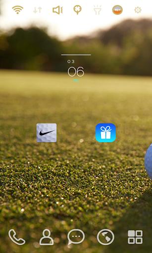 Nike Golf Field launcher theme