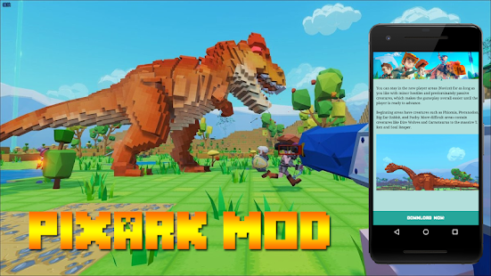 PixARK Mod For Minecraft Apps Bei Google Play - Minecraft haus bauen mit command block